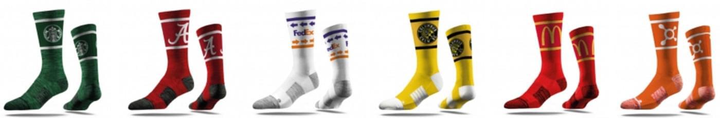 custom sock design styles