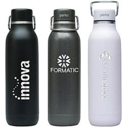 Perka® Dashing 20 oz Double Wall Stainless Steel Bottle
