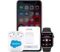 custom Apple AirPods connect seamlessly with apple products
